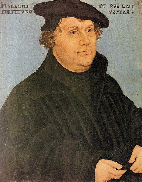 "Martin Luther asked ""As a Christian, how will you use your freedom?"""