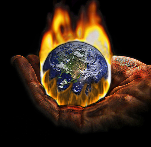 Global warming, anthropogenic or not, is part of the difficult times ahead