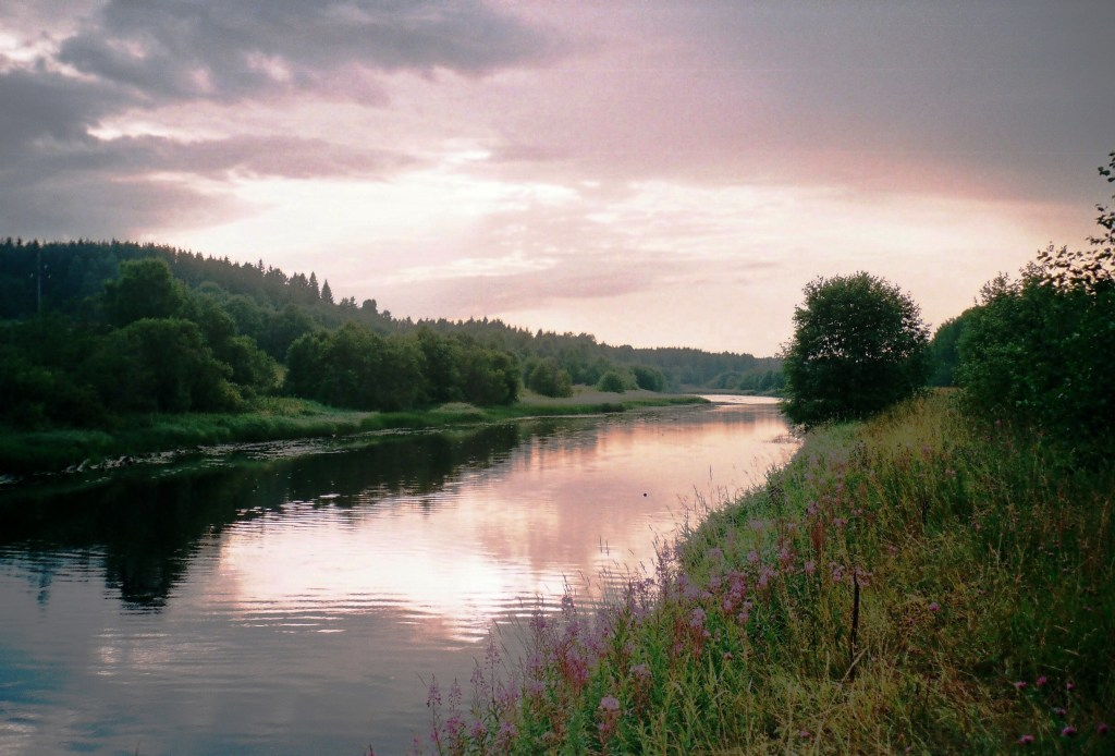 how great is my need for true knowledge, Kema River, Leningradskaya Oblast, Russia