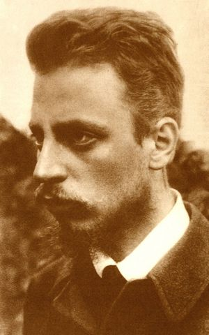 Rainer Maria Rilke wrote of all that has never yet been spoken in 1899