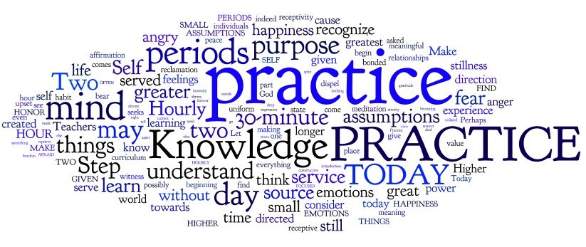 Steps To Knowledge Steps 85-90 Word Cloud. What am I trying to prove