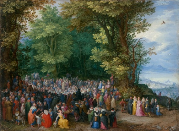 The Sermon on the Mount by Jan Brueghel the Elder, 1598. I will not be afraid of my own will.