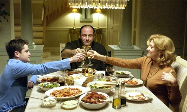 Sopranos At Dinner. An antidote for discouragement