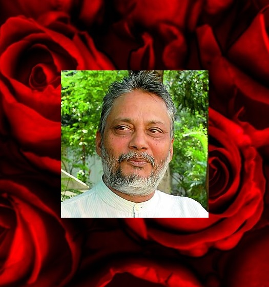 Rajendra Singh, winner of the 2015 Stockholm Water Prize. I sing the Waterman of India.