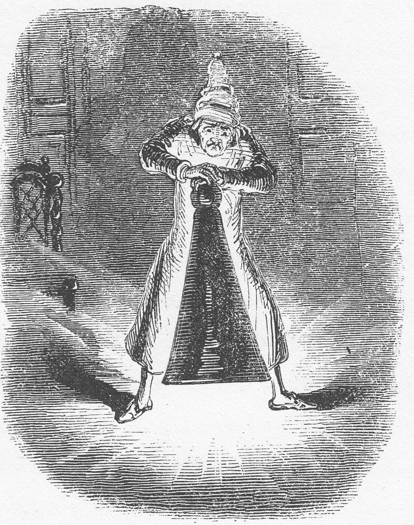 Scrooge-Extinguishing Visitation of the Ghost of Christmas Past