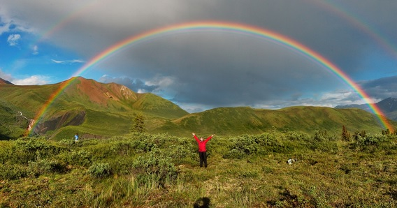 Alaska-Double-Rainbow Please tell us, what is the song in your soul?