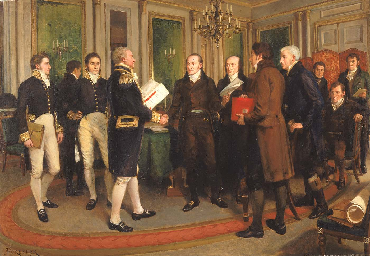 Signing_of_Treaty_of_Ghent_(1812) I wish to recall peace much more than war