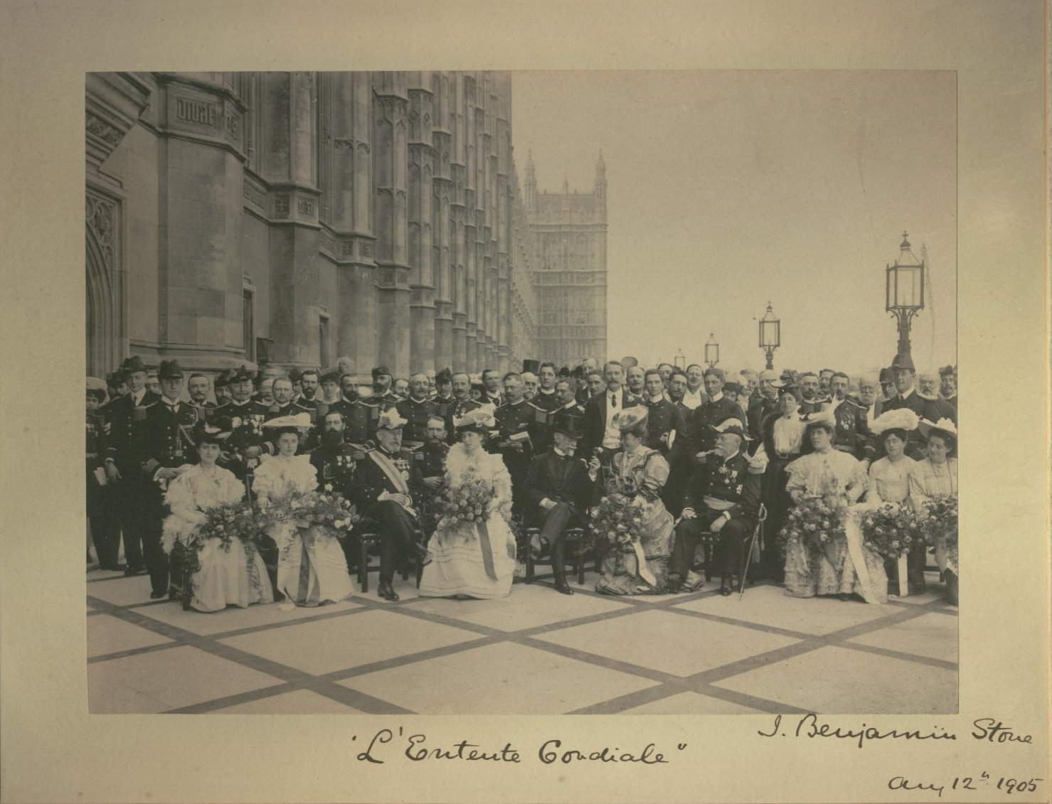 entente cordiale 1904 - 3 I wish to recall peace much more than war