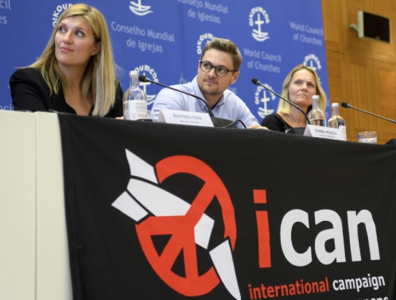 ICAN in Geneva. How many times must the warheads be dropped