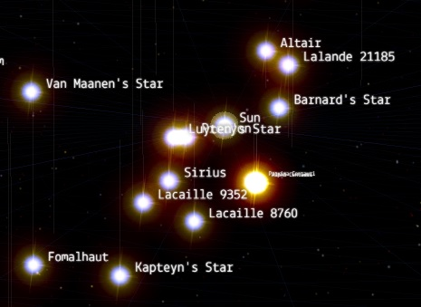 Van Maanen's Star is pretty close to the sun, as stars go. Quite a few worlds were, but are no more