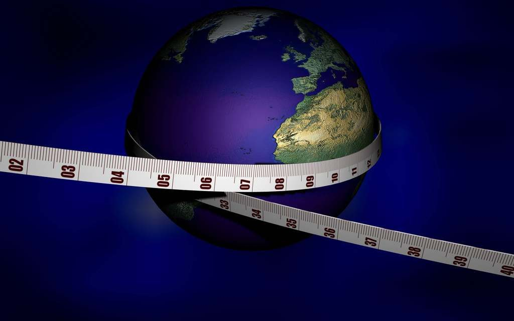 Measuring the earth. Do you believe we deserve to be free?