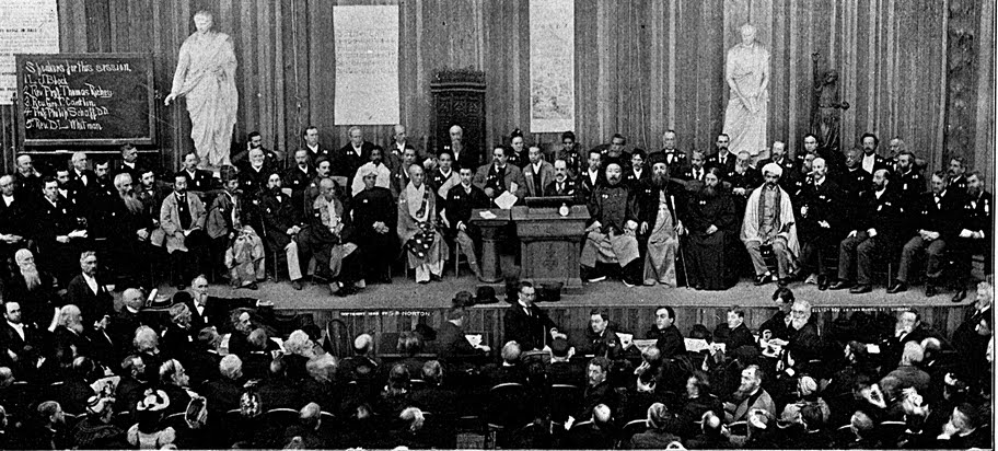 The World's Parliament of Religions, 1893. I hope for religions to love one another.