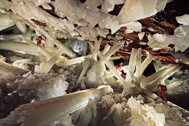 Crystal Cave, Chihuahua, Mexico. How shall I prepare to serve a troubled world?