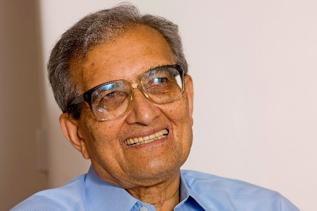 Amartya Sen didn't use these words, but he said tough times don't last, but free nations do