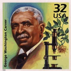 George Washington Carver was listening for a melody by silently communing with people