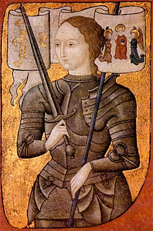 St. Joan of Arc dreamed of a unified France, living at peace with England.  Dreaming of a unified humanity