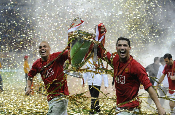 """They won the Champions League Final in 2008, but do they say """"It was for this that I was born"""" ?"""