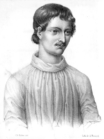 Giordano Bruno. We take inspiration from these great lives.