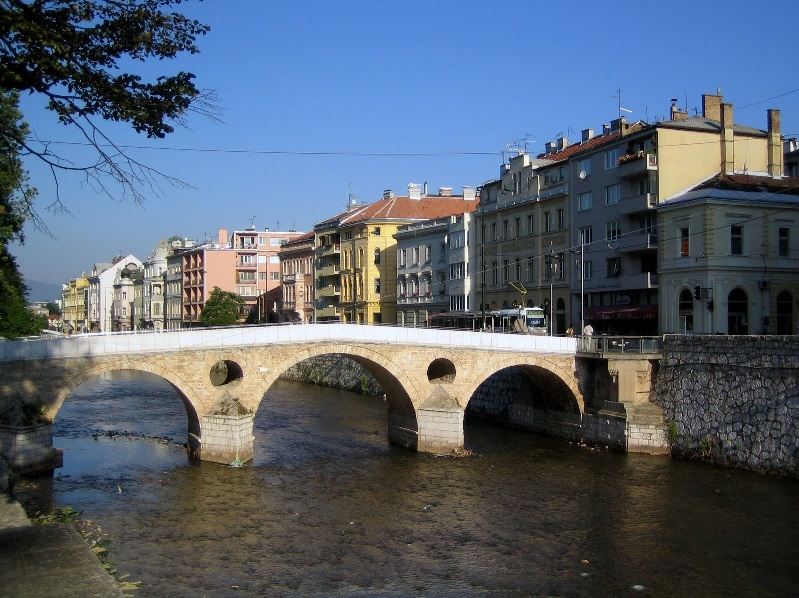 The Latin Bridge in Sarajevo, where Archduke Franz Ferdinand was assassinated. Will we repeat the errors of the past?