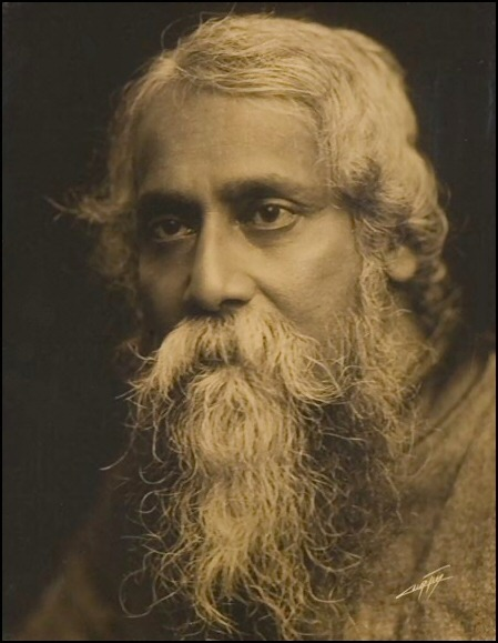 Rabindranath Tagore. Don't let me forget