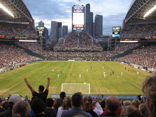 A Seattle Sounders FC soccer match. You've lost that hatin' feelin'