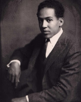 Young Langston Hughes. Of such I dream, my world!
