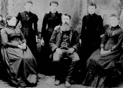 The Ingalls family in 1894. This is what it means to be free.