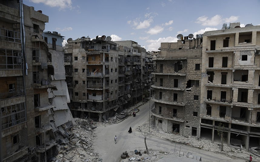 Sha'ar Neighborhood of Aleppo, Syria. How shall I prepare to serve a troubled world?