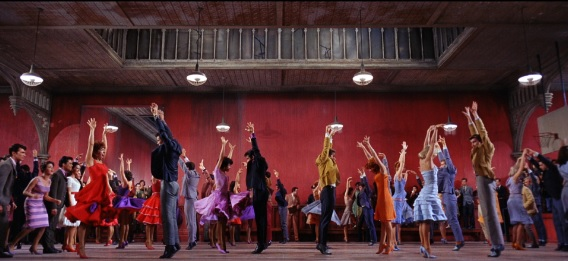Mambo Scene from West Side Story. Dancing with change
