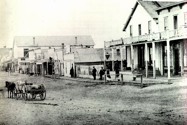 Dodge City, Front Street, 1870 Get the hell outta my mind