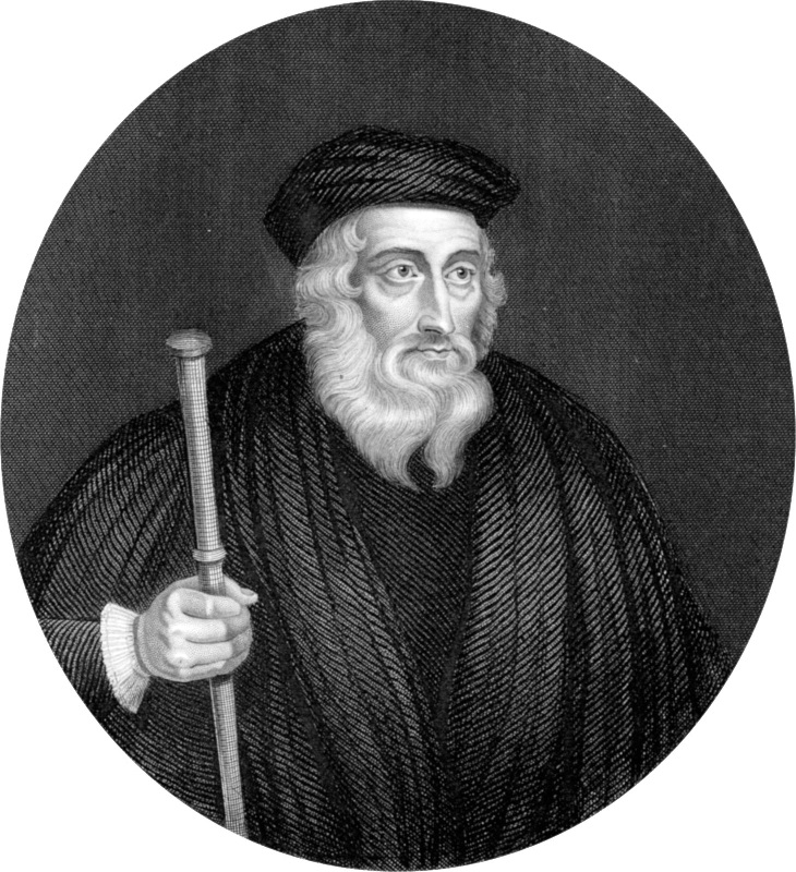 John Wycliffe In his own tongue