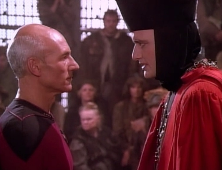 Q-Confronts-Picard A reckless, adolescent, destructive race