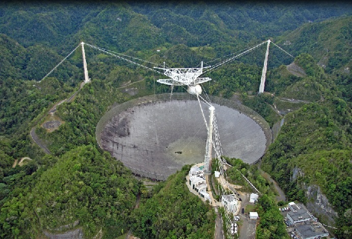 Arecibo Observatory, Puerto Rico Is this whole SETI thing a good idea?