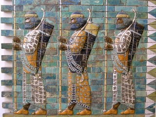 achaemenid-archers-glazed-brick-susa-c-500-bce The time, the place, the people