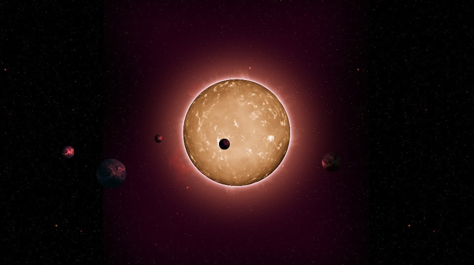Artist's conception of Kepler-444 system. Many new planets swim into our ken.