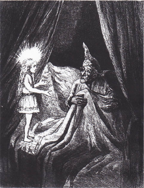 Scrooge-ghost-of-Christmas-past Visitation of the ghost of Christmas Past