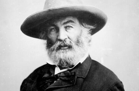 Walt Whitman I specify you with joy, O my comrade