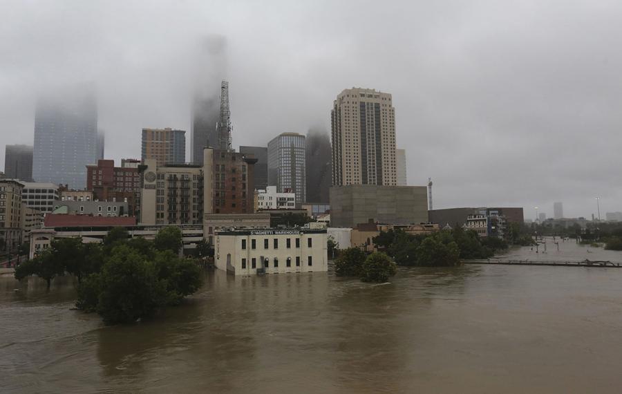 Houston on August 28, 2017. How do we handle a hundred Harveys?
