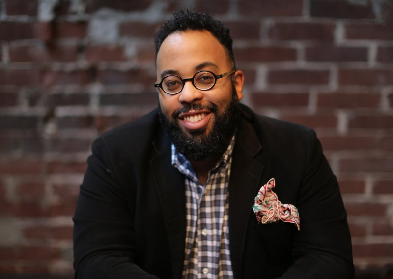 American poet Kevin Young. I must hold the memory of promise.