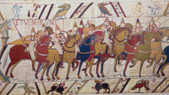 Bayeux Tapestry, Hastings. Is there a hope for friendship between nations?