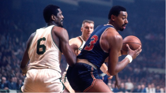 Bill Russell and Wilt Chamberlain. Is there a hope for friendship between nations?