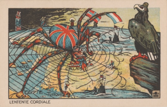 Cartoon mocking Entente Cordiale. Is there a hope for friendship between nations?