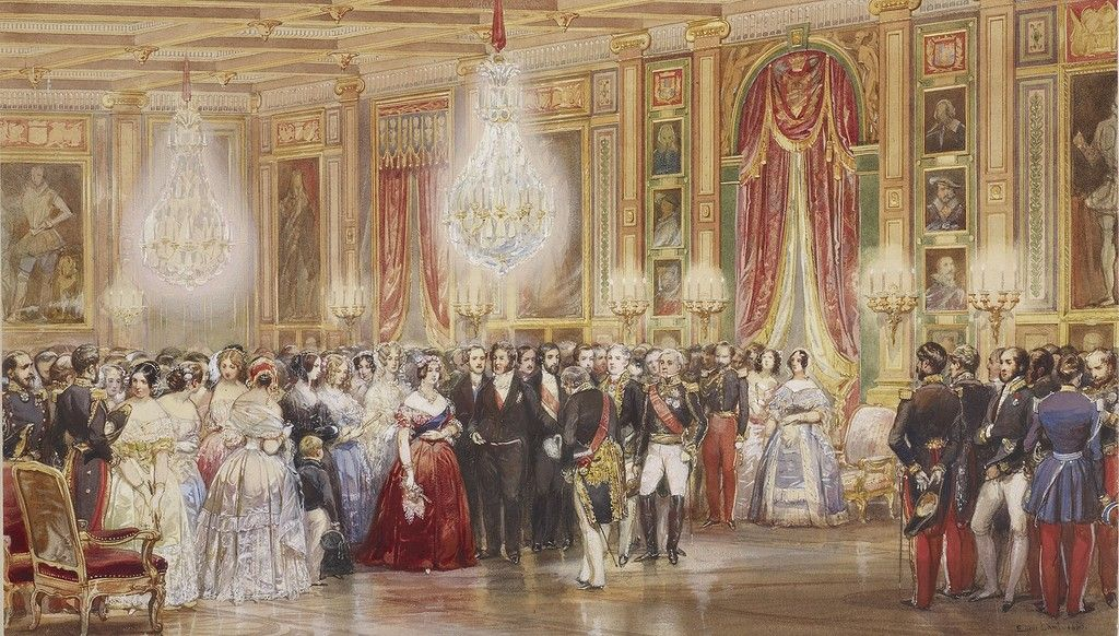 Queen Victoria visits France, 1843. Is there a hope for friendship between nations?