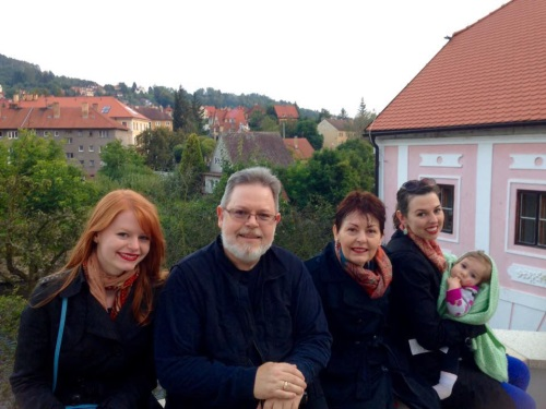 John Stewart and Family in Prague. How do you respond to a miracle?