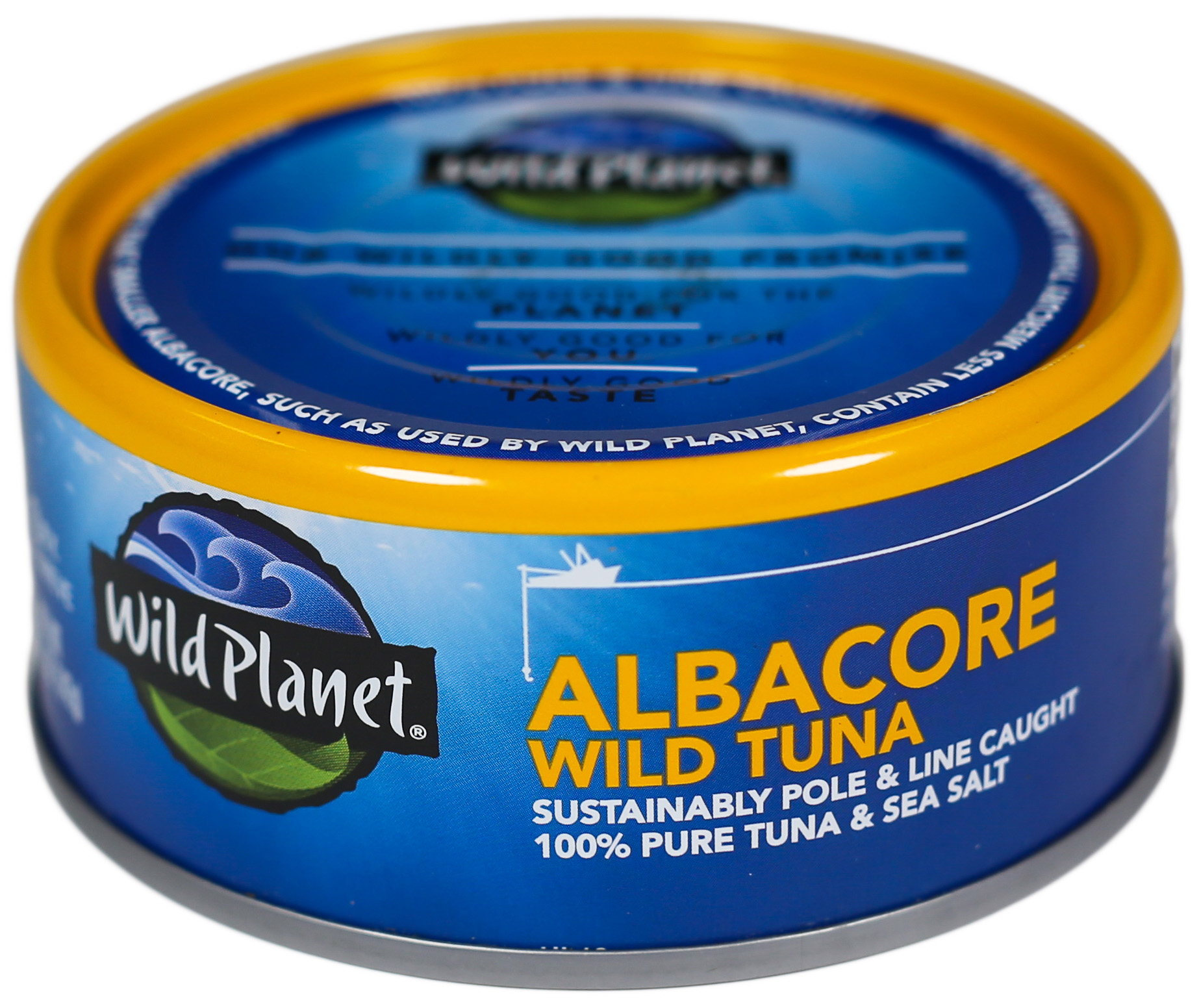 Wild Planet tuna. This might be even worse than lark's vomit.