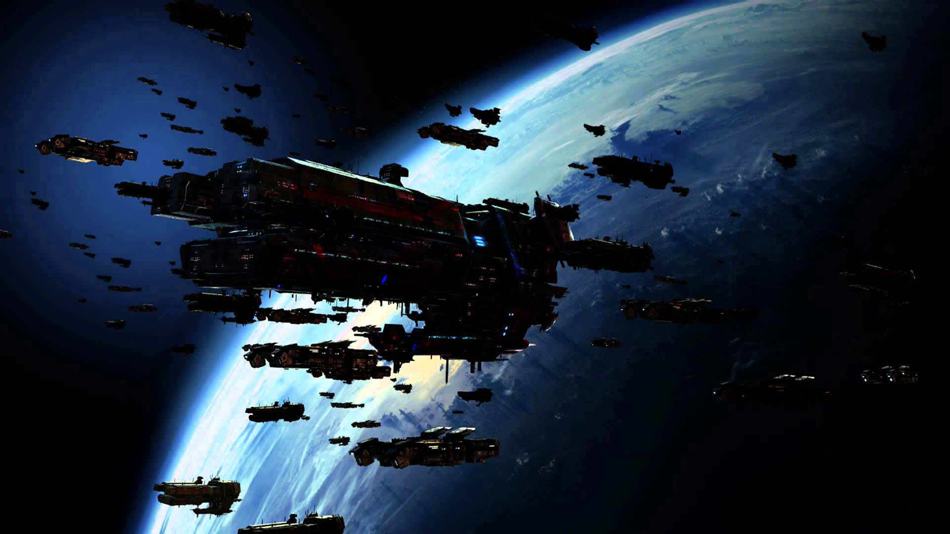 Starship fleet. We face a challenge to our future.