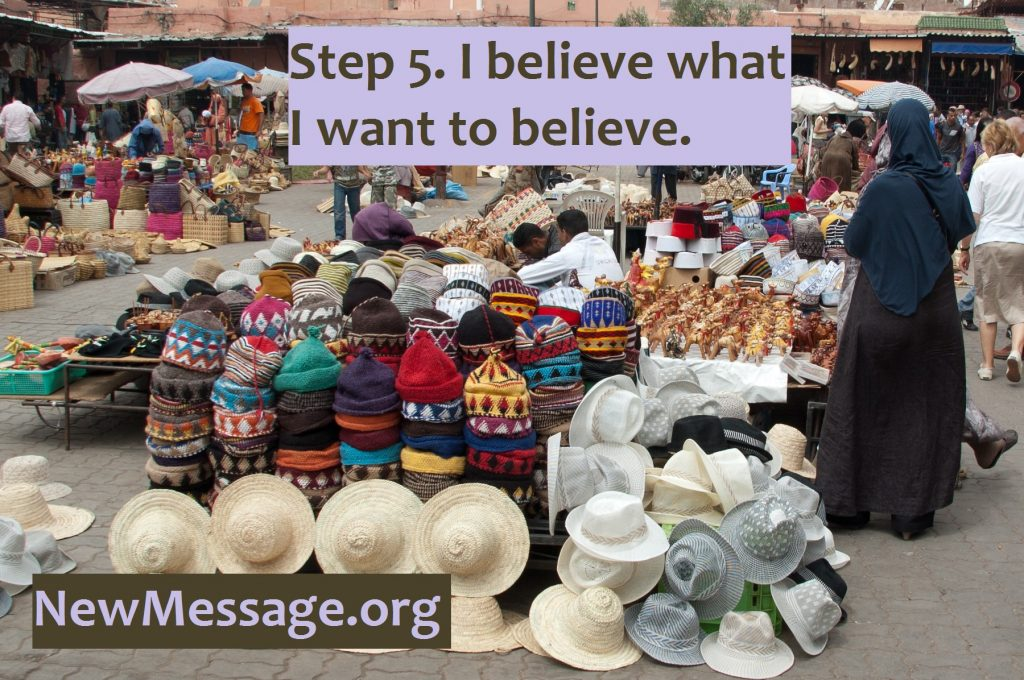 Hats in a marketplace. Please tell us all of your vibrations.